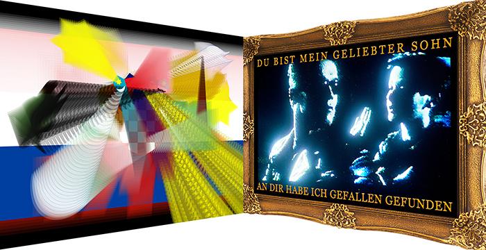 Einladungskarte zur Ausstellungseröffnung Kunstverein Rheinsieg, 2009