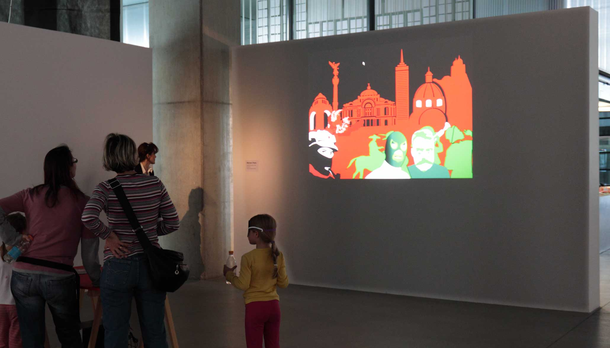 Flag Metamorphoses at Video Vortex 8 conference and exhibition, Museum of Contemporary Art MSU, Zagreb, 2012