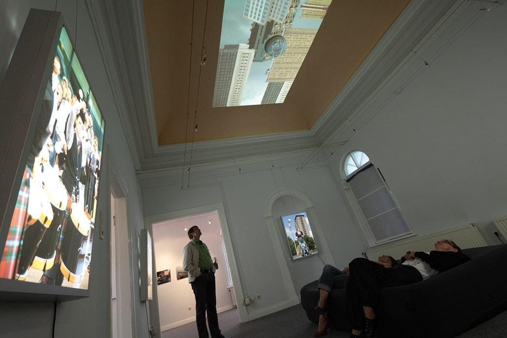 Myriam Thyes, BEYOND GLASGOW, Einzelausstellung, Kunstverein Aurich, Aug. - Sep. 2013
