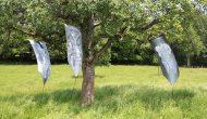 Global Vulva Flags (2014), Kunstlauf Meilen, 2014.
