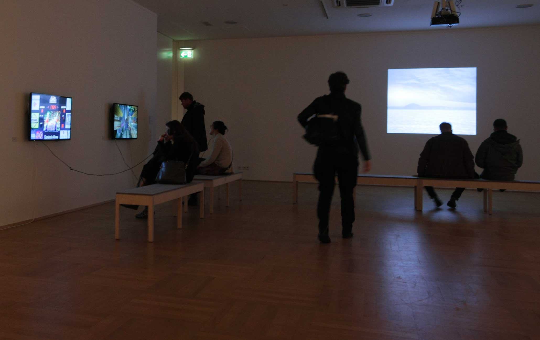 Same Same But Different, Videostill-Edition und Videos der Stiftung imai, NRW Forum, Düsseldorf, 2015