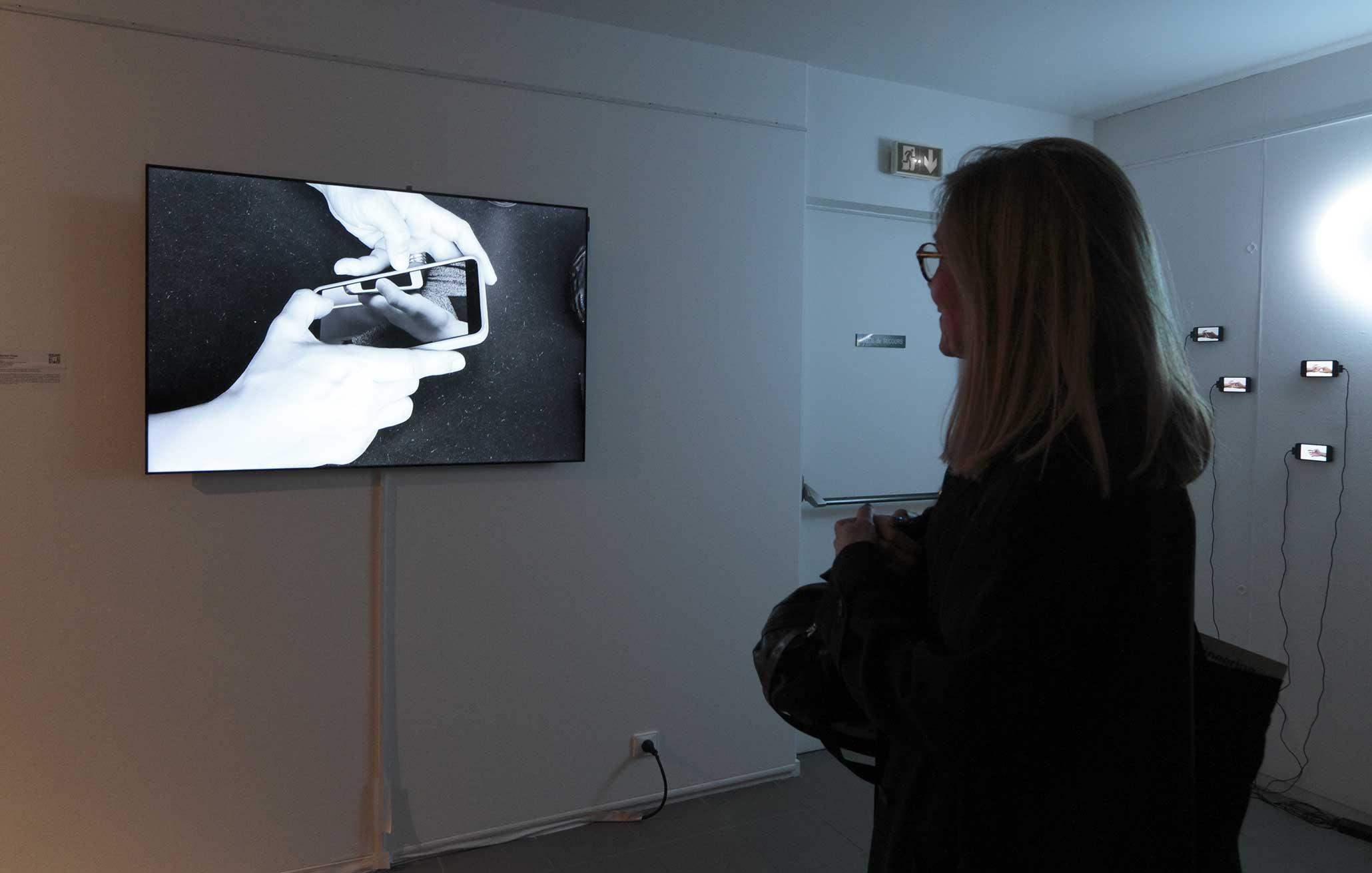 Smart Pantheon in der Gruppenausstellung 'VARIATION - ArtJaws media art exhibition and fair', Cité Internationale des Arts, Paris, Frankreich 2017.