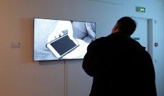 'Smart Pantheon' in der Gruppenausstellung 'VARIATION - ArtJaws media art exhibition and fair', Cité Internationale des Arts, Paris, Frankreich 2017.
