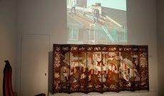 Heroic Virility, Videoprojektion, Gruppenausstellung Artists' Conquest, Schloss Pillnitz, Dresden, 2021