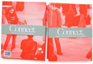 Katalog zur Ausstellung 'Connect' in der Shedhalle Zürich 2011 und zum Programm 'Sitemapping' des Schweizer Bundesamtes für Kultur