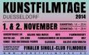 Kunstfilmtage Dusseldorf 2014 - excerpt of the poster