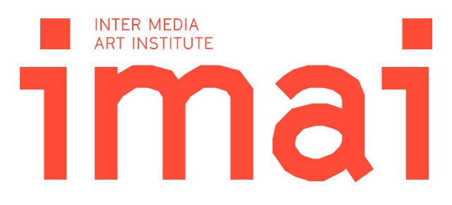 Stiftung imai - inter media art institute, Düsseldorf. Logo.