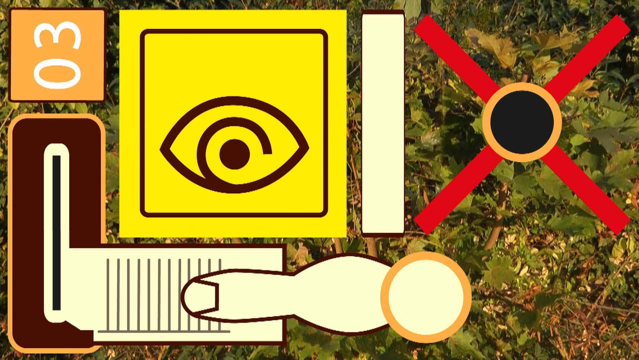 Myriam Thyes, Analytischer Tagtraum Nr. 1: S-Bahn-Station (2012), HD Video, 1:50, stereo. Videostill.