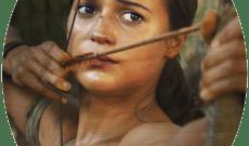 Galerie der Starken Frauen (2018-2019). Tomb Raider, Lara Croft.
