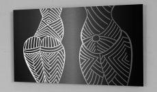 Global Vulva Plates (2014), Statuette, Steinzeit (Europa).