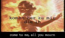 Myriam Thyes, Instant Salvation (2002), Video Pal, 3:33, stereo. Videostill.