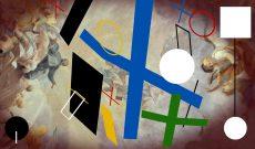 Myriam Thyes, Kreuz und Fläche zu Raum (2017). 2D-Standbild aus der Animation.