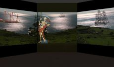 Myriam Thyes, Malta As Metaphor (2008), Video Pal, 4/8-Kanal-Installation (20:45, loop, stereo), Modell