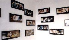 Myriam Thyes, Sil Selbst, 1997, 13 Collagen aus dem Film Species.