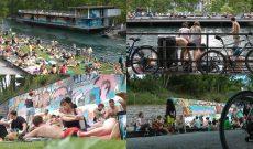 Zürich Szenen, UHD-Video, 8:55, stereo. Videostill.