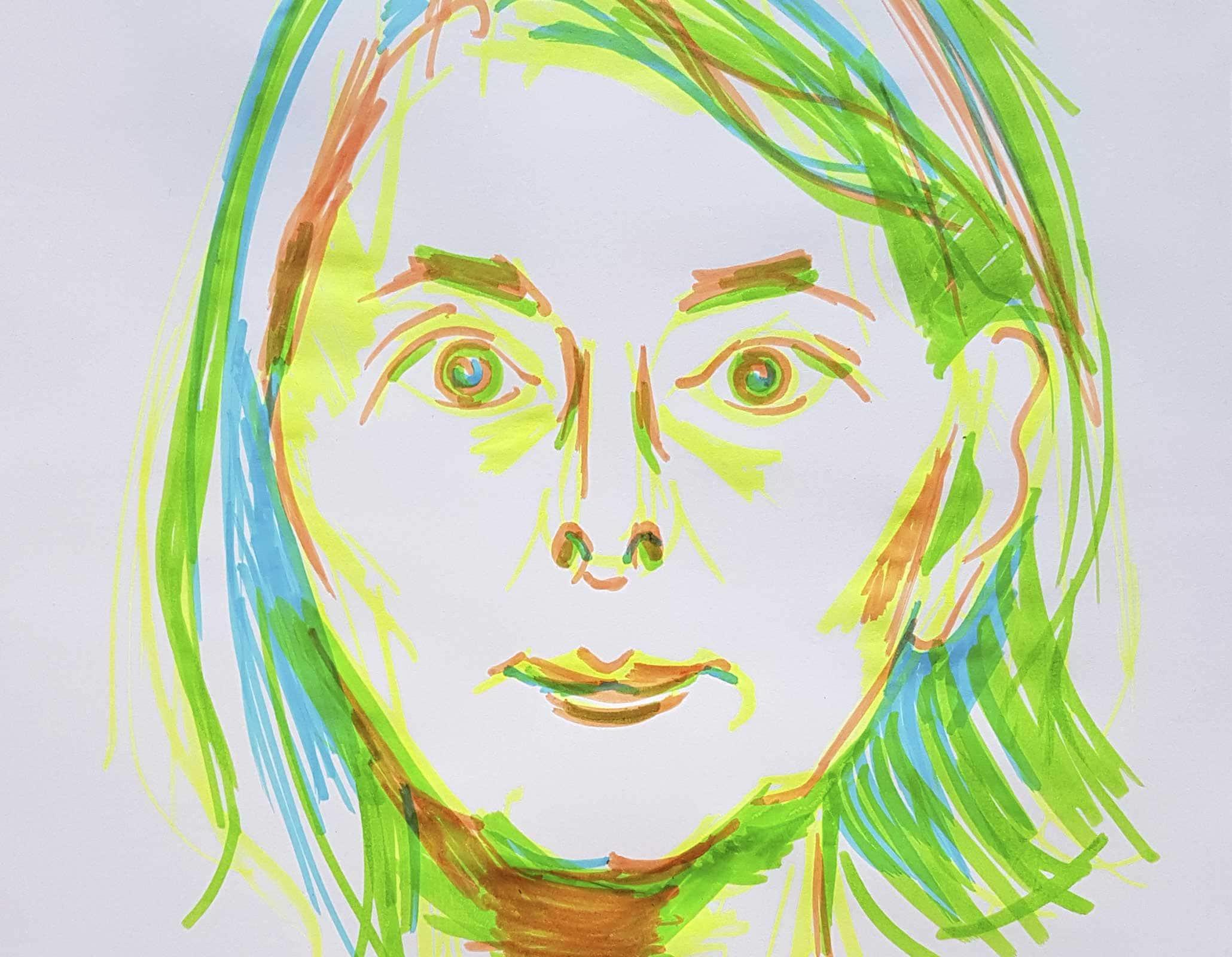 Portraits + Texte über Myriam Thyes